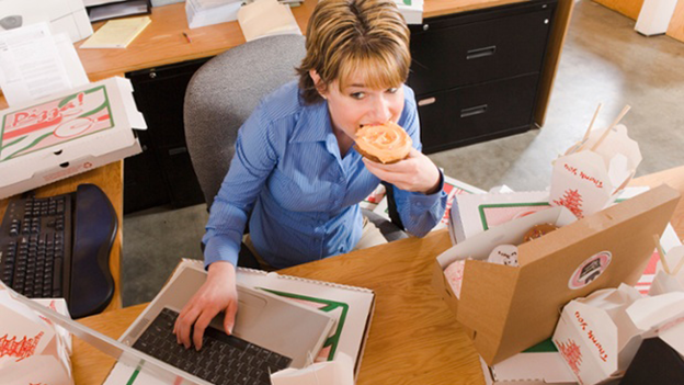 Office Employees Should Be On Feet For Four Hours Of