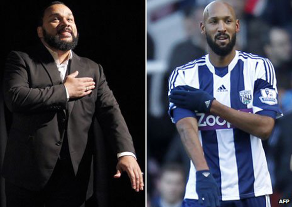Dieudonne and Anelka