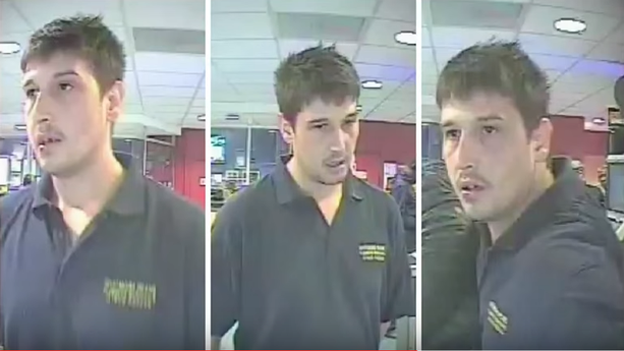 Betting shop assailant